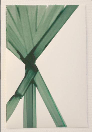 Acrylic on paper. 2009.