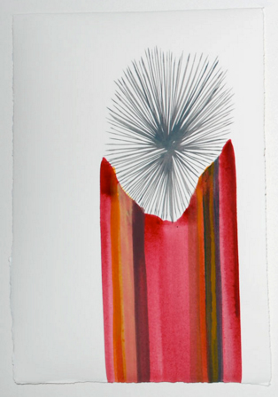 Acrylic on paper 2009