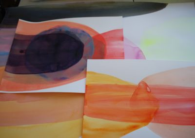 Works on paper - works in progress - Gotheborg residency 2016