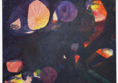 Acrylic on canvas. 2015. The world without us. Hafnarborg.2