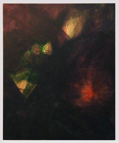 Acrylic on canvas. 2015. The world without us. Hafnarborg.