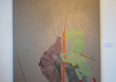 Acrylic on canvas. 140x150 cm 2017 160x170. A17 Íslensk abstraktlist í upphafi 21stu aldar Listasafn Reykjanesbæjar